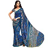 Laxmipati Georgette Saree (Gp3594_Blue)