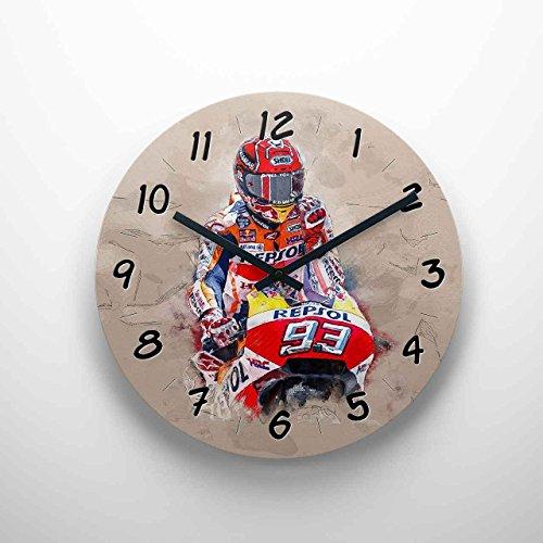 GP-Clock - Marc Marquez - 02 | Wanduhr 29 cm