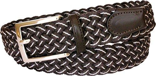 cintura-35-cm-elasticizzata-3-colori-intreccio-in-viscosa-tr49-taglia-52-120-cm-girovita-105-cm-moro