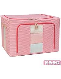 MZP juguete caja de almacenamiento caja de almacenamiento de ropa equipada Oxford tela de tejido caja de almacenamiento caja de almacenamiento de bolsa edredones niño extra grande , beige dog , 100l