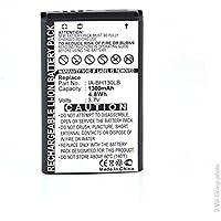 NX - Batterie caméscope 3.7V 1300mAh - IA-BH130LB ; IABH130LB