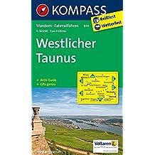 Westlicher Taunus 1 : 50 000 (KOMPASS-Wanderkarten, Band 839)