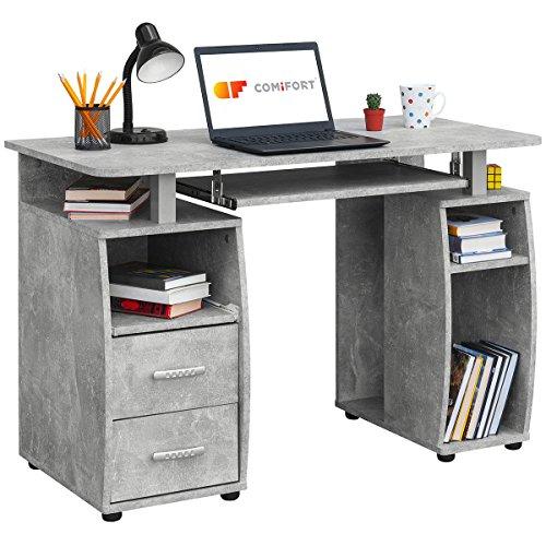 COMIFORT-Mesa-de-Ordenador-Escritorio-Mesa-de-Oficina-115x55x85-cm