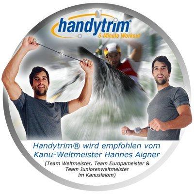 Handytrim® Rotationsexpander – Heimtrainer und Mini Fitnessgerät für zuhause und unterwegs inklusive Trainings-DVD - 6