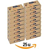 Pañuelos de Papel Reciclado Facial - Tissues con Dispensador Eco 150 unidades - 25 Estuches