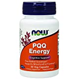 Now Foods PQQ Energy Plus Veg Capsules, 20 mg, 30 Count