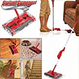 Best Electric Brooms - Krevia New Amazing imported Rotating Sweeper Refill Household Review