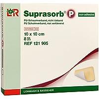 Suprasorb P PU-Schaumverband 10x10 cm Nicht Klebend, 8 St preisvergleich bei billige-tabletten.eu