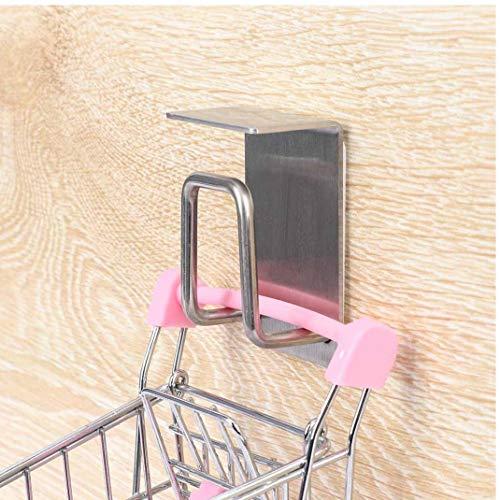 PiniceCore 1PC Lagerung Aufhänger-Haken Wasserdicht Nichtrostender Self Adhesive Edelstahl-Badezimmer-Küche Waschbecken Home Küchenwandhaken -