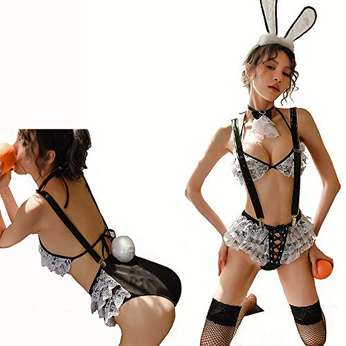 HJG Sexy Bunny Girl Cosplay Kostüm Dessous
