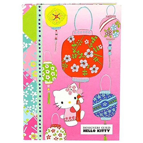 Offizielles Hello Kitty Designer Guild Luxus Stoff A5 Notizbuch Schulheft