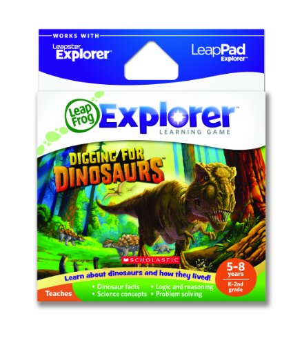 LeapFrog Explorer Learning Game: Digging for Dinosaurs (works with LeapPad & Leapster Explorer) by LeapFrog (Leap Pad Videos)