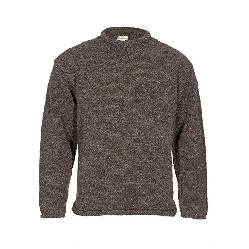 Yak Wolle Rollkragenpullover für Männer - Herren Handgenähter Pullover - Maßgeschneiderte Wolle Pullover