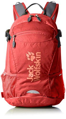 Jack Wolfskin Velocity 12 Rucksack, Fiery Red, ONE SIZE