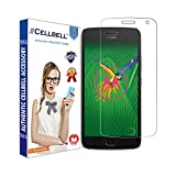 #7: Cellbell Tempered Glass Screen Protector for Moto G5 Plus