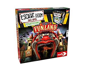 noris Escape Room Funland Niños y Adultos Deducción - Juego de Tablero (Deducción, Niños y Adultos, 60 min, 16 año(s), Caja Cerrada)