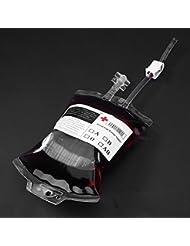 Forfar Nouveauté Article IV Sang Sac / Container Sac de sang pour les boissons 500 ml x 1 sac avec Seringue supplémentai