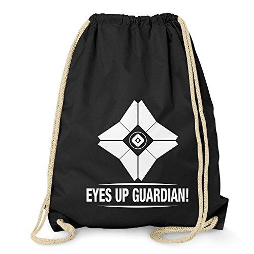 NERDO - Eyes up Guardian! - Turnbeutel, schwarz (Ps3-mmo)