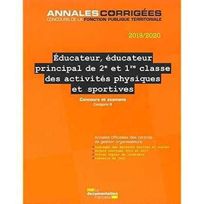 Educateur, éducateur principal de 2e et 1re classe des activités physiques et sportives : Concours et examens
