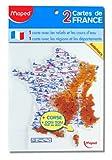 Maped - Gabarit carte de France, contenu: 2 pices...