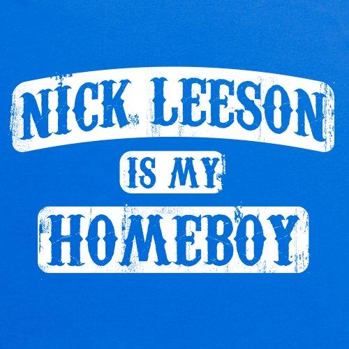 Square Mile Leeson T-Shirt, Herren Royalblau