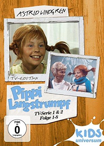 Pippi Langstrumpf - TV-Serie 1&2, Folge 01-08 [2 DVDs]