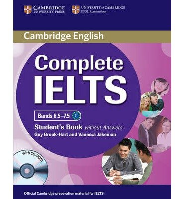 Complete IELTS Bands 6.5-7.5 Student's Book without Answers with CD-ROM (Complete) (Mixed media product) - Common