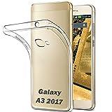 Samsung Galaxy A3 2017 - Hülle Schutzhülle Tasche Durchsichtig - transparent