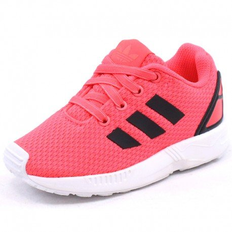 adidas Originals Zx Flux I, Chaussures Fille, Rosa / Nero