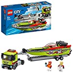 LEGO City ArrestosuStradadellaPolizia con 2 Macchinine, Set Inseguimento per Bambini dai 5 Anni in su, 60242  LEGO