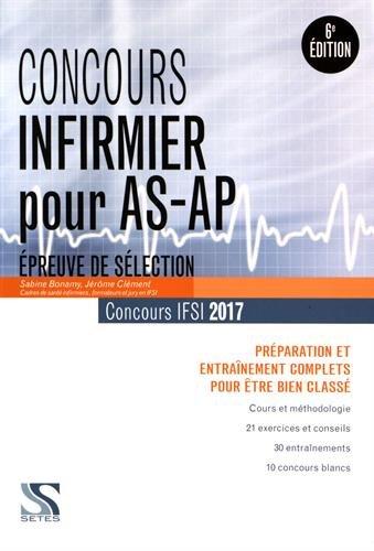 Concours infirmier pour AS-AP 2017