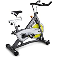 Preisvergleich für Capital Sports Ergo Bike Radical Arc S18 • Ergobike • Heimtrainer • Cardio-Bike • Trainingscomputer • 18kg Schwungrad für Den Widerstand • belastbar bis 125kg • Silber