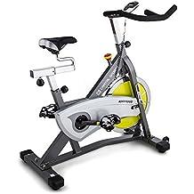 Capital Sports Ergo Bicicleta ergométrica (18 kg de masa oscilante, sillín ajustable, monitor