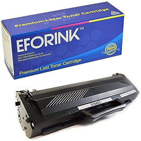 EFORINK - MLT-D1042S Cartucho de Tóner Láser para Impresora ML-1660 ML-1661 ML-1665 ML-1666 ML-1667 ML-1675 ML-1860 ML-1861 ML-1864 ML-1865 ML-1865W ML-1867 SCX-3200 -3205 SCX-3205W SCX-3207