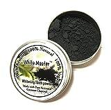 VECDY L'effet de Dentifrice au Bambou de Charbon Actif Organique Naturel de Poudre de blanchiment des Dents est remarquable (Noir)