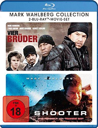 Mark Wahlberg Collection - Vier Brüder/ Shooter [Blu-ray]