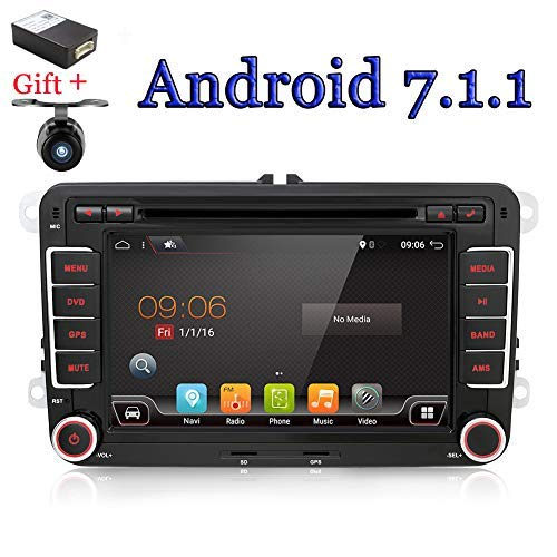 Navigationsgerät / DVD-Player mit Kamera + CANBUS 17,8 cm 2 DIN Android 6,0 Quad Core, Touchscreen, unterstützt Mirrorlink/ OBD2/ Subwoofer/ RDS/ Bluetooth - Boss Dvd-player