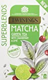 Twinings Super Blends Matcha Tea Bags, Pack of 4, 80-Count