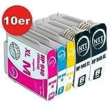 N.T.T. 10er-Set kompatibel zu HP 940XL 940 HP940 HP-940 Tintenpatronen für HP Officejet Pro 8000 Wireless Printer-A809n 8000 Printer -A809a 8000 Enterprise Printer-A811a Pro 8500 All-in-One Printer-A909a 8500 Wireless All-in-One Printer-A909g 8500 Premier All-in-One Printer-A909n 8500A e-All-in-One Printer-A910a 8500A Plus e-All-in-One Printer -A910g 8500A Premium e-All-in-One Printer-A910n (4 Schwarz,2 Cyan, 2 Magenta, 2 Yellow)