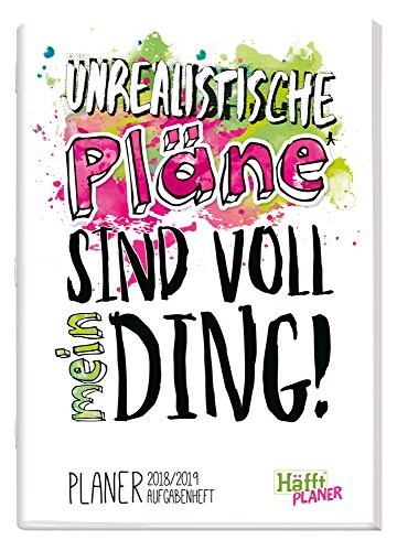 Häfft PLANER A5 2018/2019 [Voll mein Ding] Hausaufgabenheft/Schülerkalender/Schüler-Tagebuch/Schülerplaner