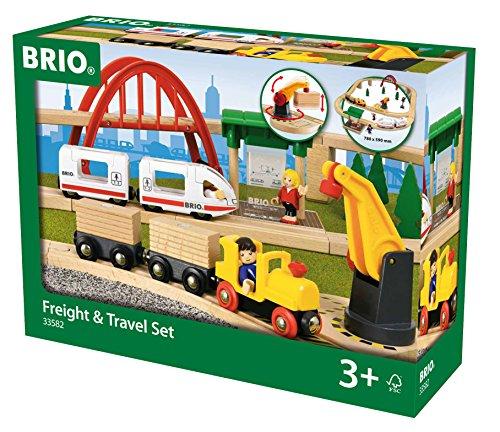 BRIO 33582 - Freight und Travel Set