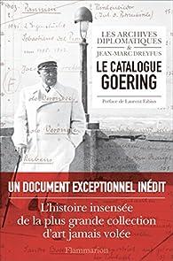 Le Catalogue Goering par Jean-Marc Dreyfus