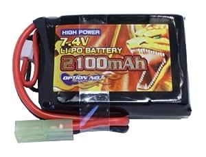 HAUTE PUISSANCE LIPO 7.4V 2100mAh (PEQ portée correspondance) GB-0023V2