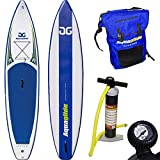 Aquaglide Aufblasbares Stand Up Paddleboard Cascade 12,6 381 x 79 x 15 cm 15,5 kg ISUP inkl. Tragetasche, Pumpe & Manometer