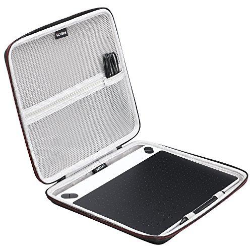 LTGEM Hülle Wacom Intuos Art Small Black Grafik-Tablett für digitales Malen/Stift-Tablett mit druckempfindlichem Stift und Multitouch-Oberfläche für 690 Series (Bundle-art Supplies)