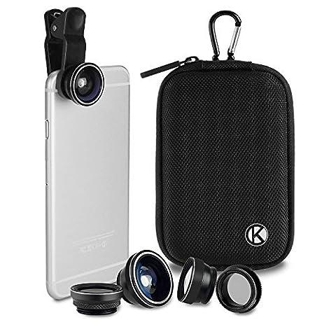 Kit universel 5 en 1 CamKix Deluxe pour appareil photo - MV (+ Étui)
