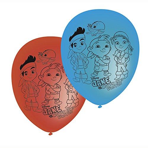 Jake The Pirate Kostüm - PARTY DISCOUNT NEU Luftballon Jake &