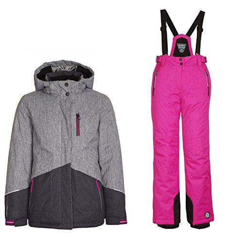 Killtec Nera Jr - Ski Set Mädchen Skianzug, Bitte Größe wählen:176 (Mädchen Snowboard-anzug)