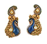 Beautiful Peacock Style Earrings for Wom...