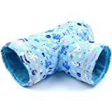 Alfie Pet By Petoga Couture - Marley Tunnel Living Habitat For Mouse, Chinchilla, Rat, Gerbil And Dwarf Hamster - Color: Blue